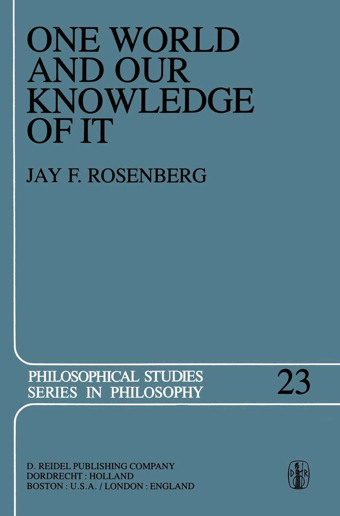 One World and Our Knowledge of It.pdf