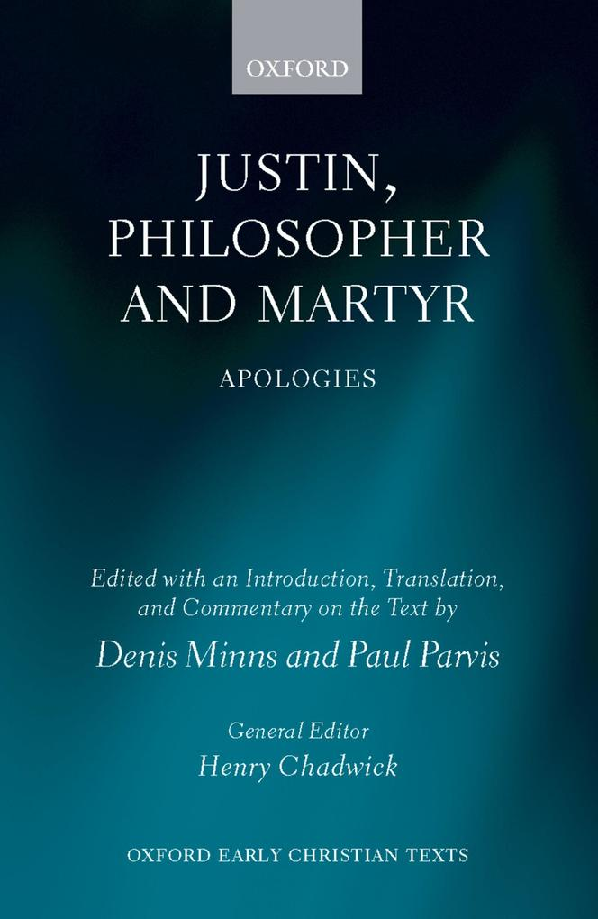 Justin, Philosopher and Martyr.pdf