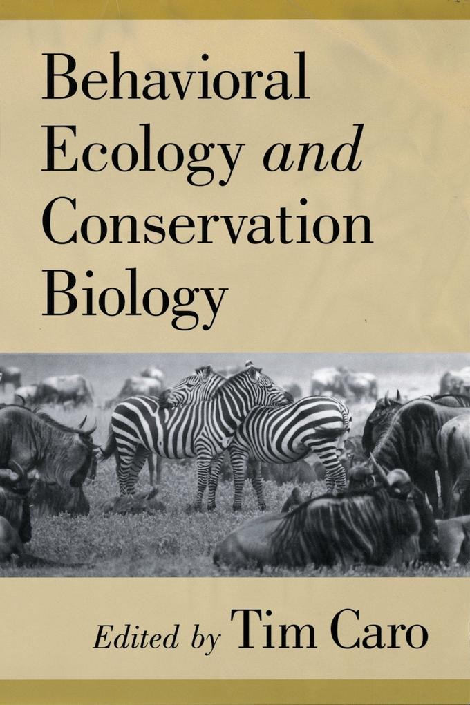 Behavioral Ecology and Conservation Biology.pdf