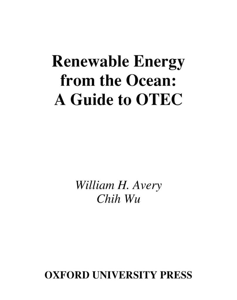 Renewable Energy From the Ocean.pdf