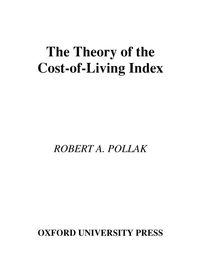 The Theory of the Cost-of-Living Index.pdf