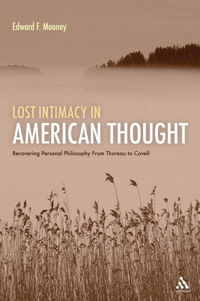 Lost Intimacy in American Thought.pdf