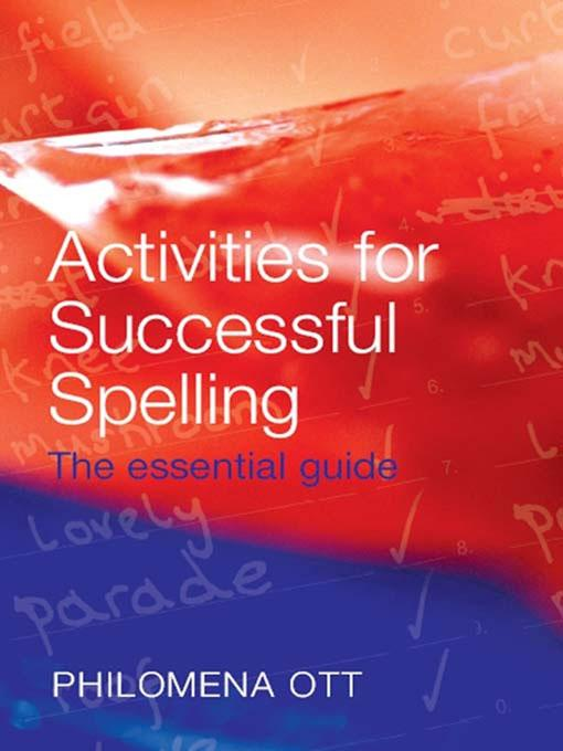 Activities for Successful Spelling.pdf