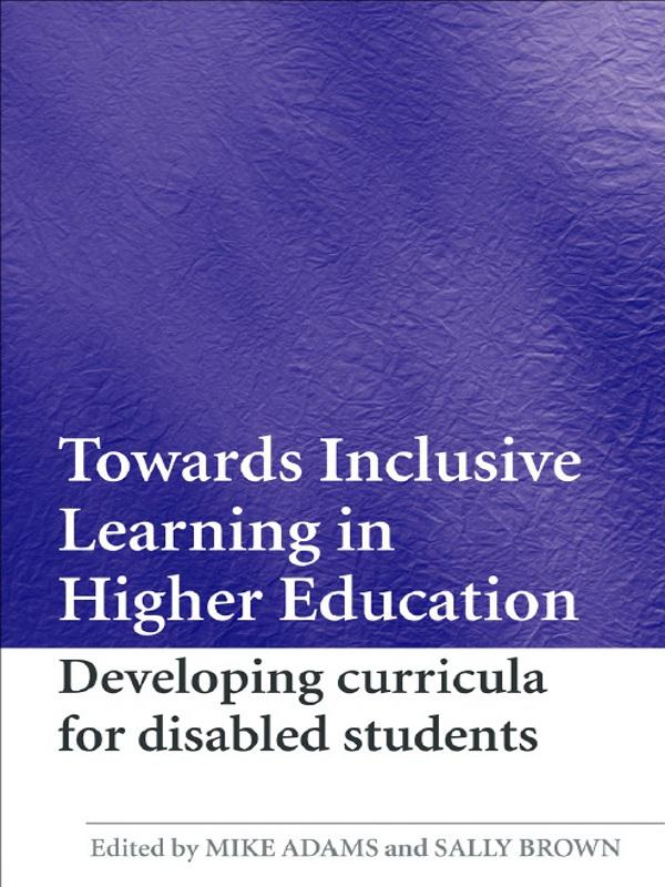 Towards Inclusive Learning in Higher Education.pdf