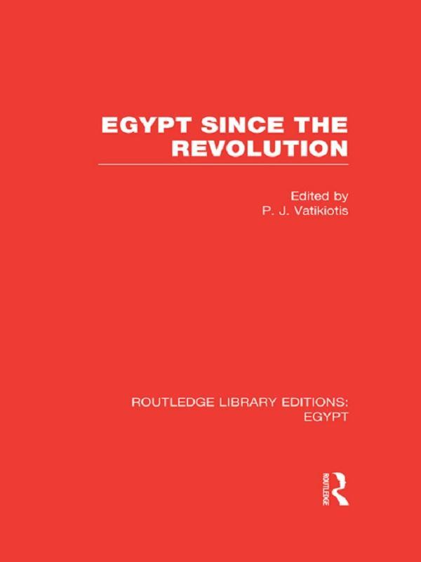Egypt Since the Revolution (RLE Egypt).pdf