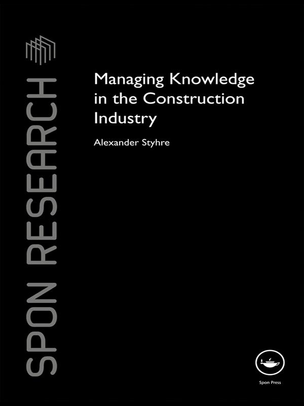 Managing Knowledge in the Construction Industry.pdf