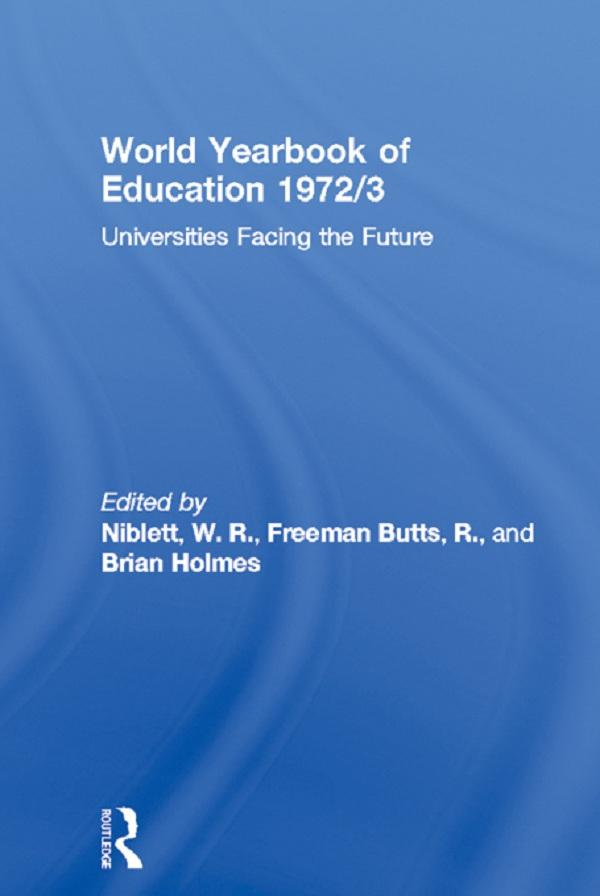 World Yearbook of Education 1972/3.pdf