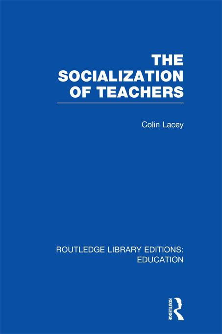 The Socialization of Teachers (RLE Edu N).pdf