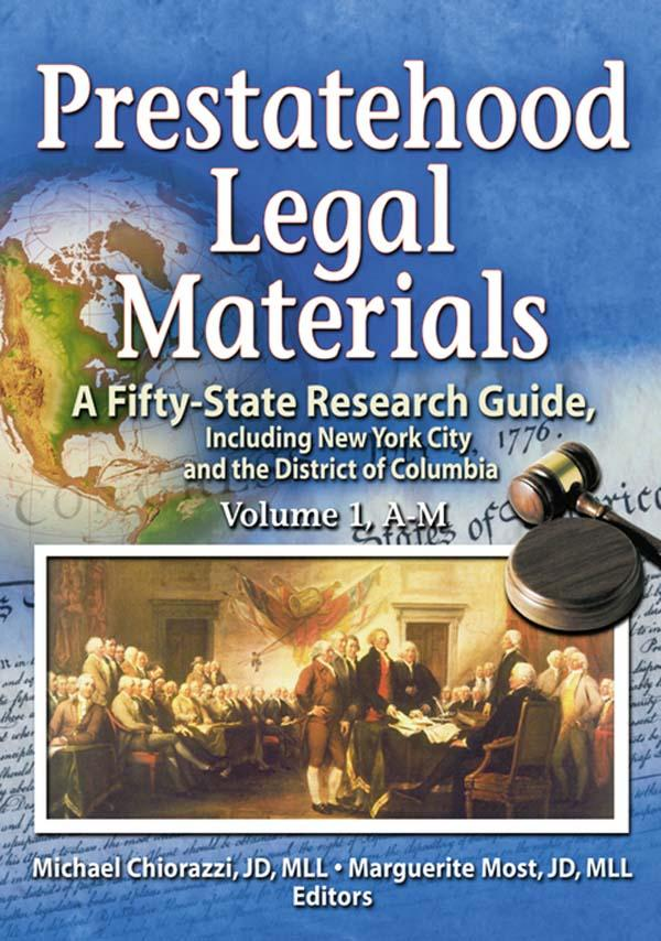 Prestatehood Legal Materials.pdf