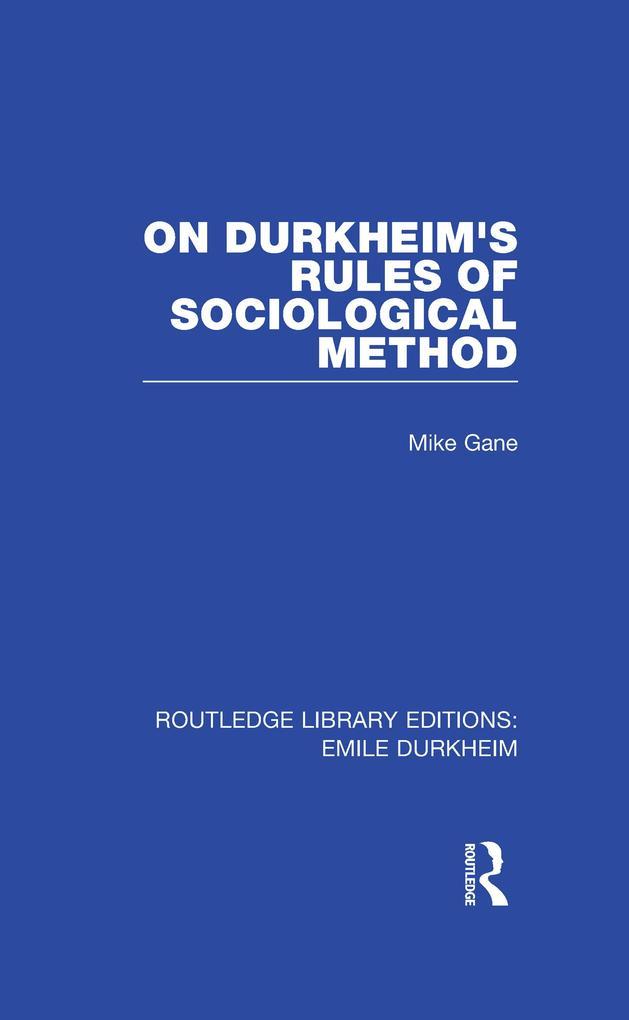 On Durkheims Rules of Sociological Method.pdf