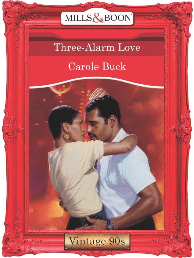 Three-Alarm Love (Mills & Boon Vintage Desire).pdf