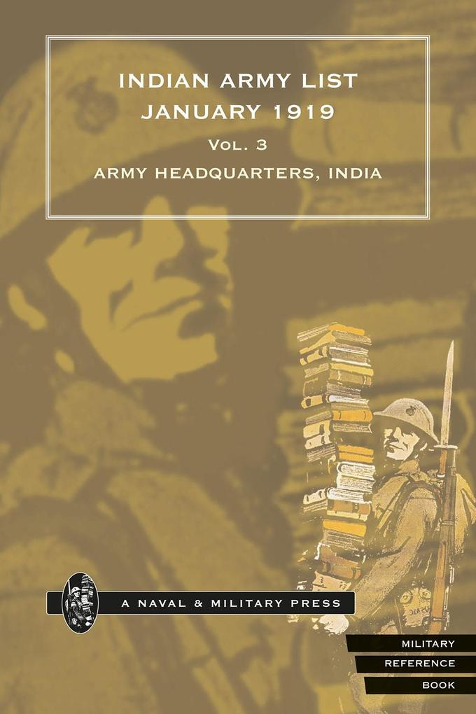 Indian Army List January 1919 - Volume 3.pdf