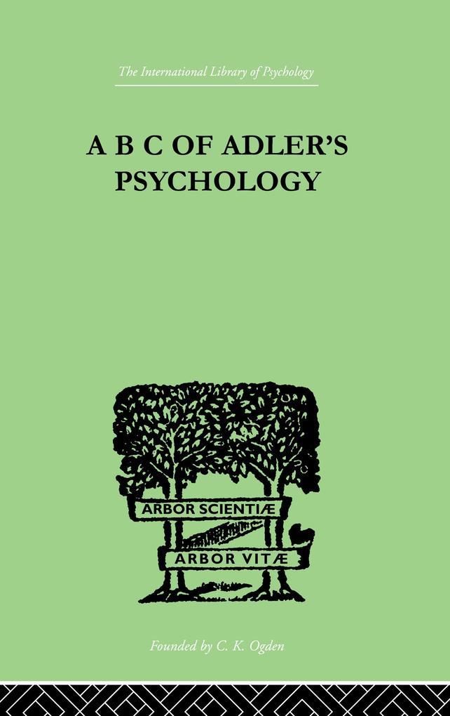 A B C Of AdlerS Psychology.pdf