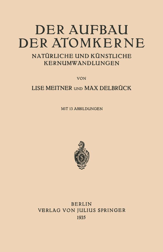 Der Aufbau Der Atomkerne.pdf