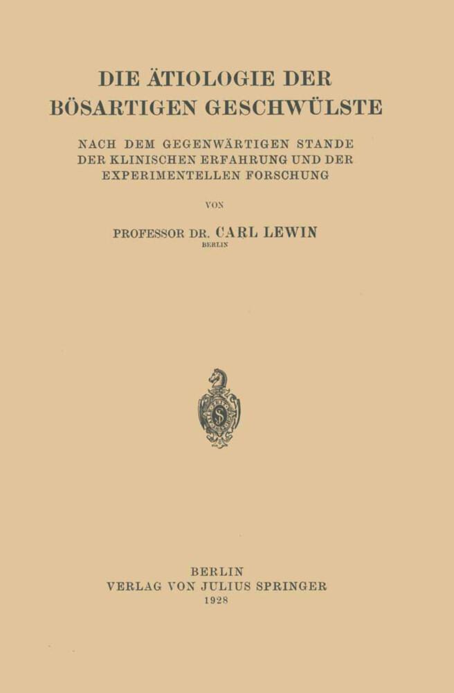 Die Ätiologie der Bösartigen Geschwülste.pdf