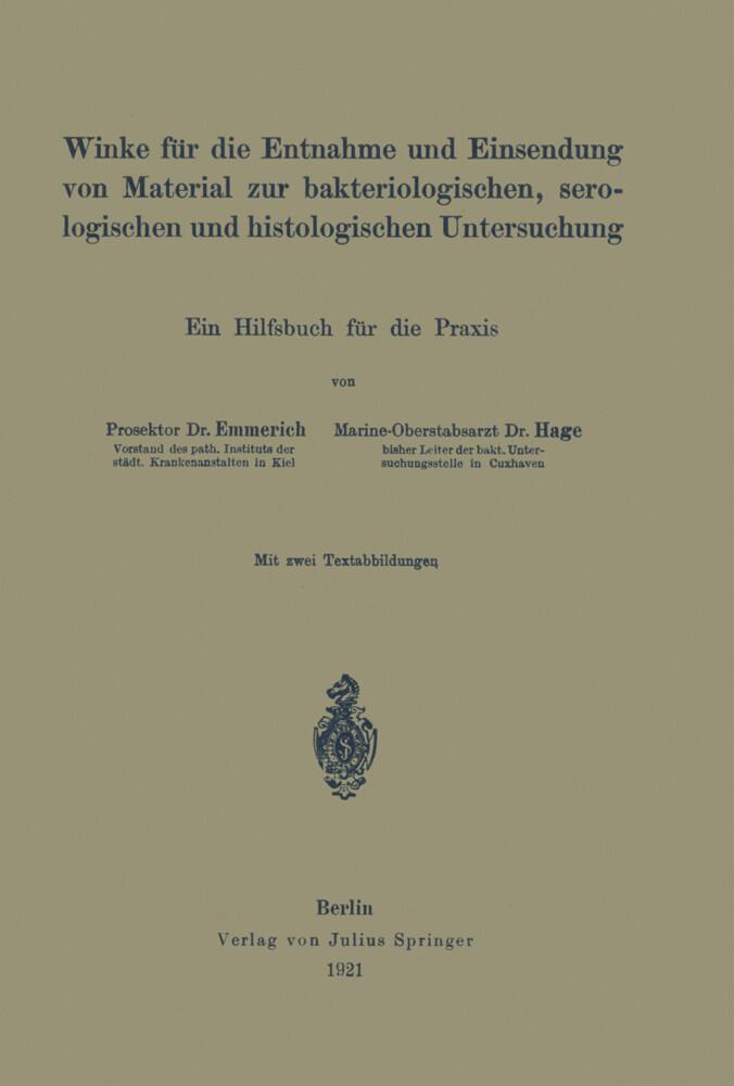 Winke für die Entnahme und Einsendung von Material zur bakteriologischen, serologischen und histologischen Untersuchung.pdf