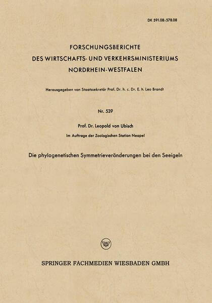 Die phylogenetischen Symmetrieveränderungen bei den Seeigeln.pdf