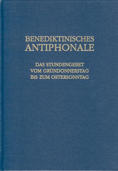 Benediktinisches Antiphonale als Buch (gebunden)