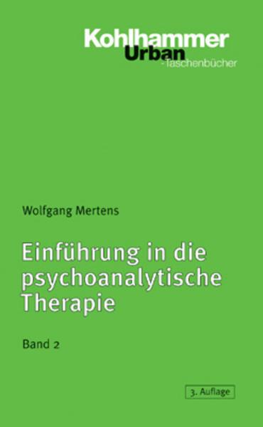 Einführung in die psychoanalytische Therapie 2 als Taschenbuch