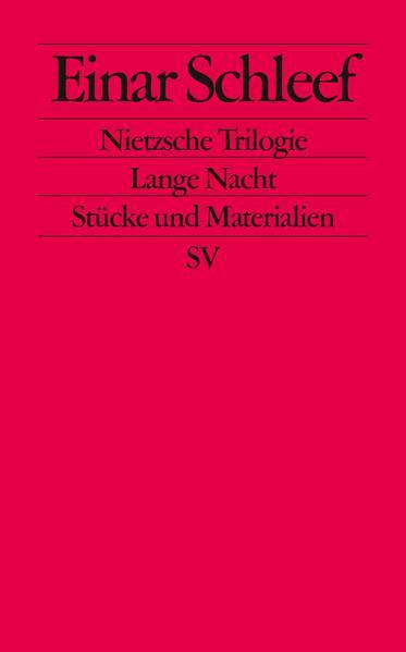 Nietzsche Trilogie. Lange Nacht als Taschenbuch