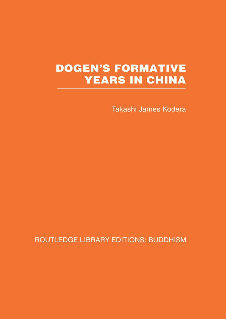 Dogens Formative Years.pdf