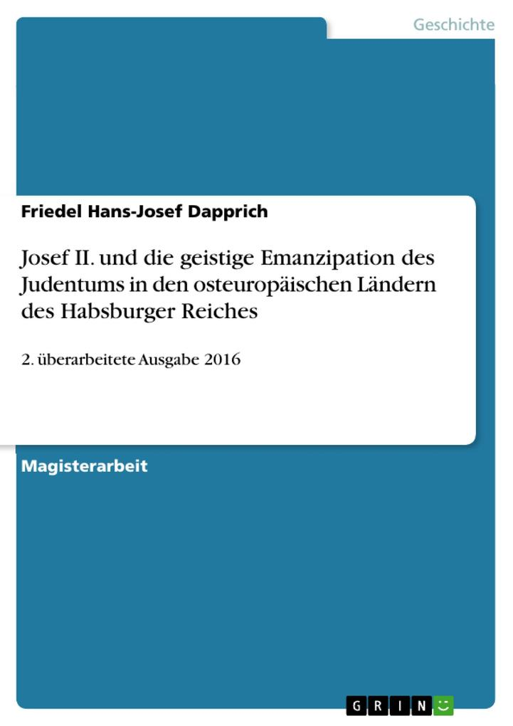 Josef II. und die geistige Emanzipation des Judentums in den osteuropäischen Ländern des Habsburger Reiches.pdf