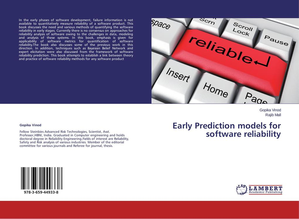 Early Prediction models for software reliability.pdf