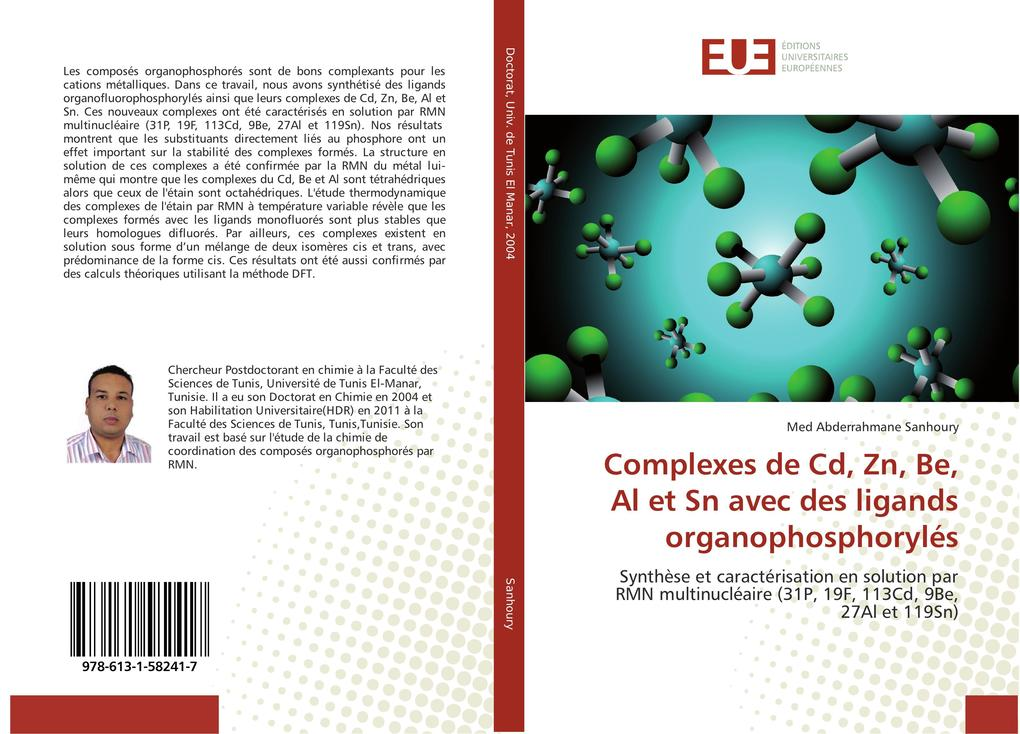 Complexes de Cd, Zn, Be, Al et Sn avec des ligands organophosphorylés.pdf