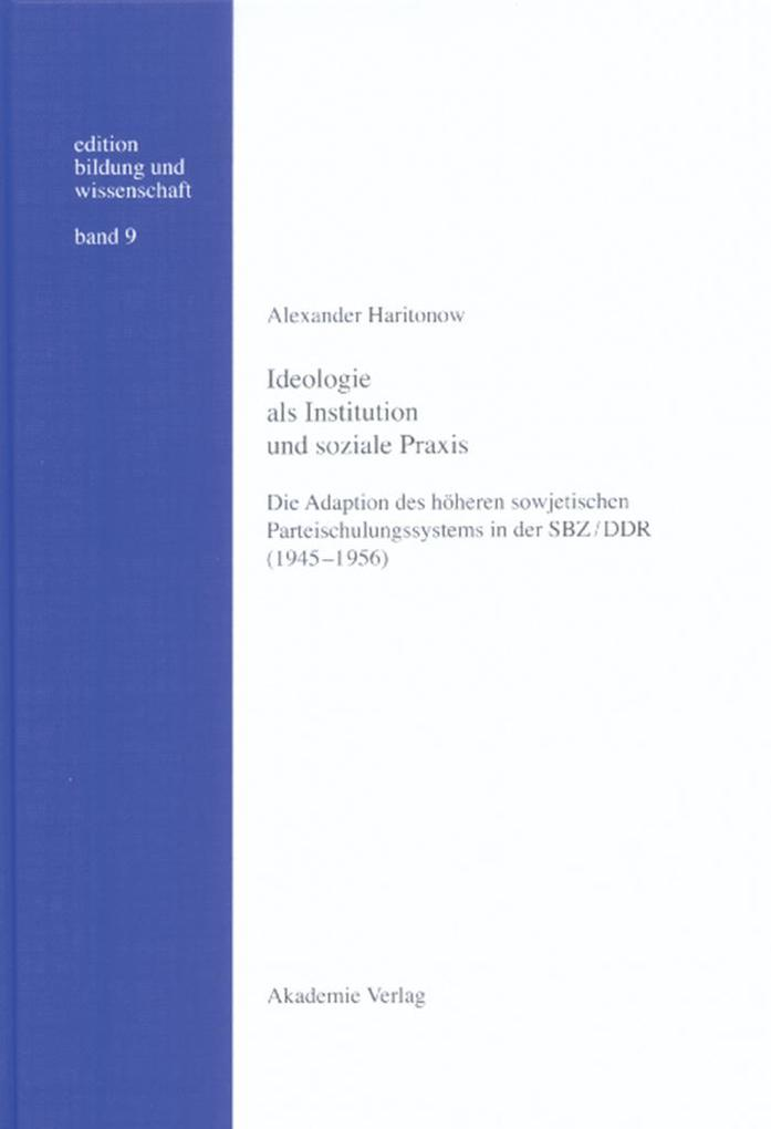 Ideologie als Institution und soziale Praxis als eBook pdf
