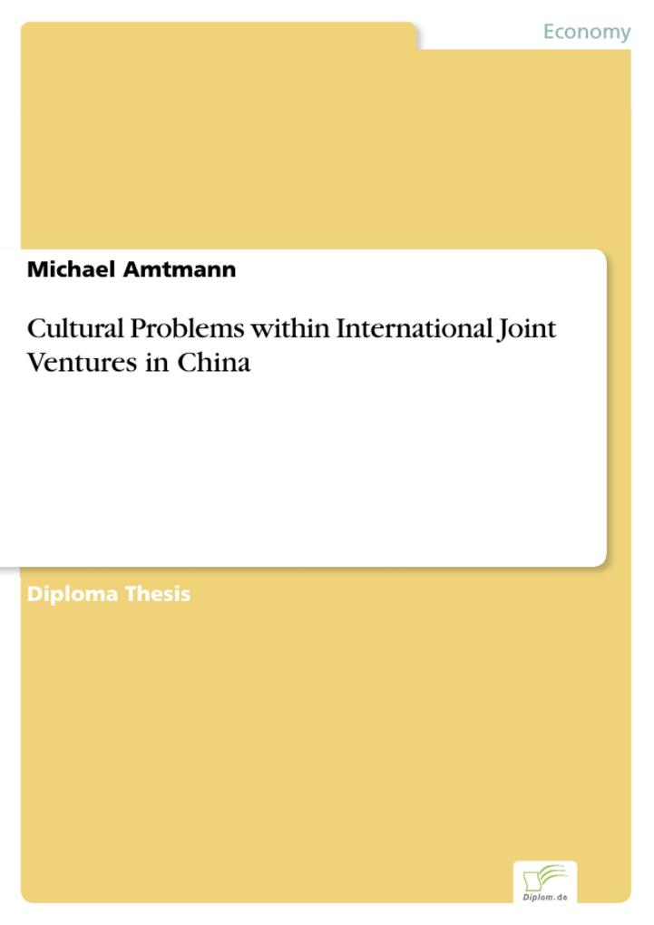 Cultural Problems within International Joint Ventures in China.pdf