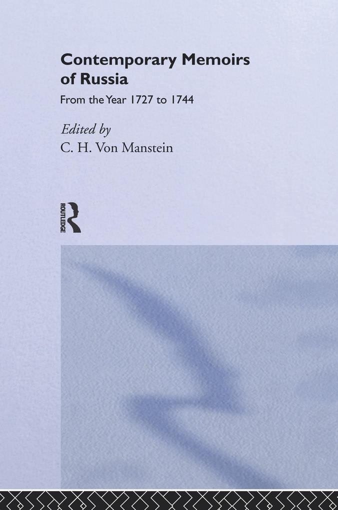 Contemporary Memoirs of Russia from 1727-1744.pdf