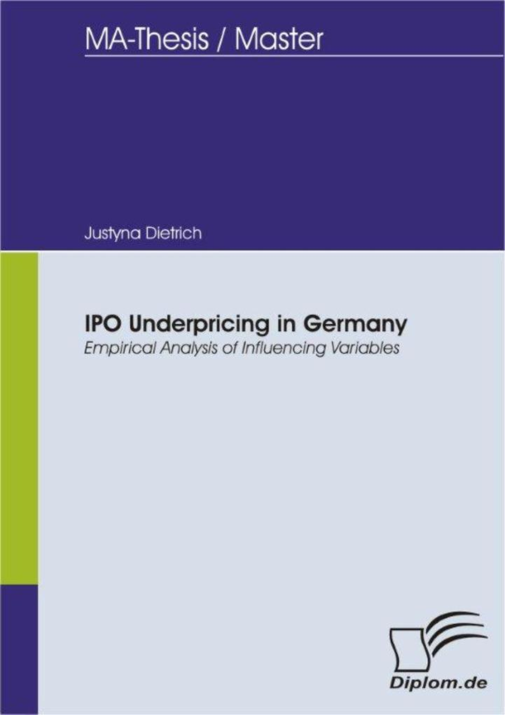 IPO Underpricing in Germany - Empirical Analysis of Influencing Variables.pdf