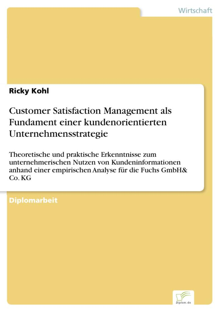 Customer Satisfaction Management als Fundament einer kundenorientierten Unternehmensstrategie.pdf
