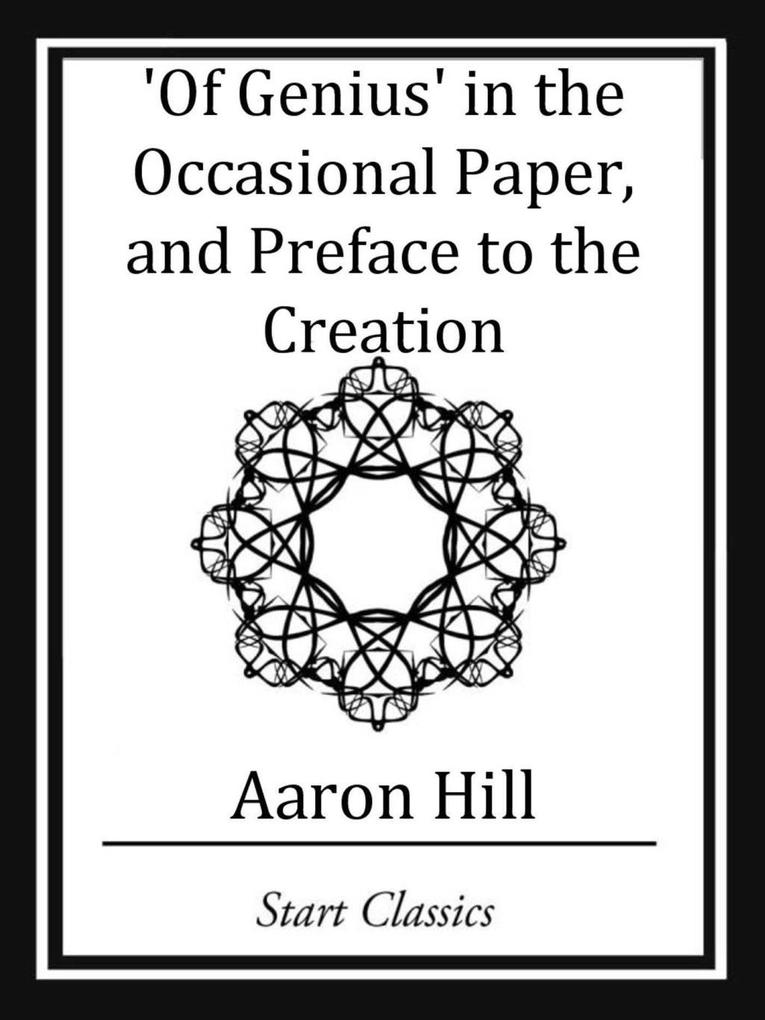 Of Genius in the Occassional Paper, and Preface to the Creation.pdf