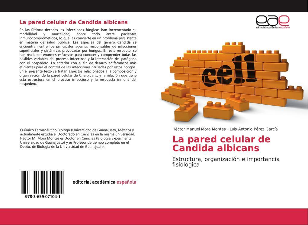 La pared celular de Candida albicans.pdf