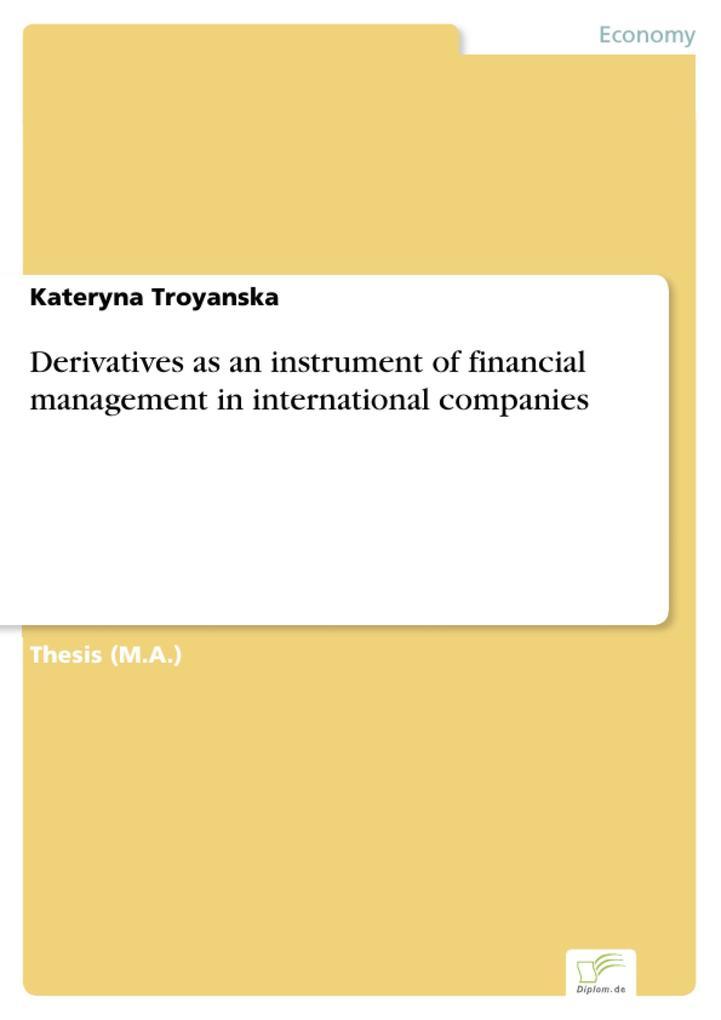 Derivatives as an instrument of financial management in international companies.pdf