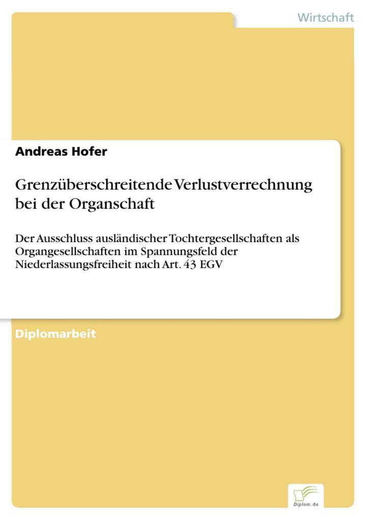 Grenzüberschreitende Verlustverrechnung bei der Organschaft.pdf