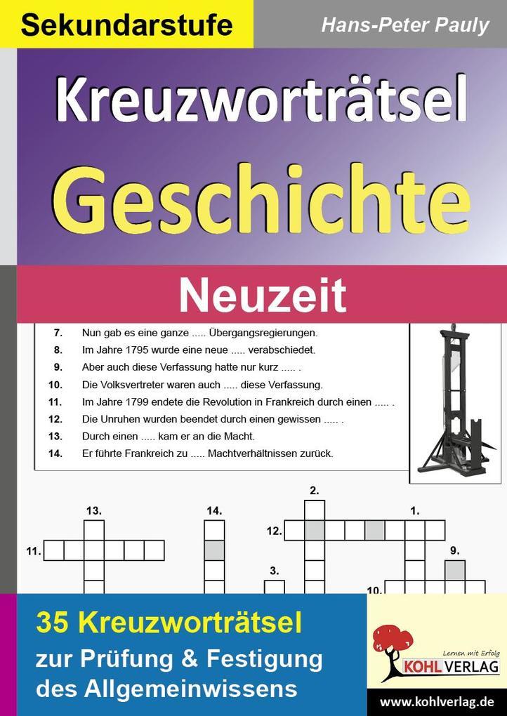 Kreuzworträtsel Geschichte / Neuzeit.pdf