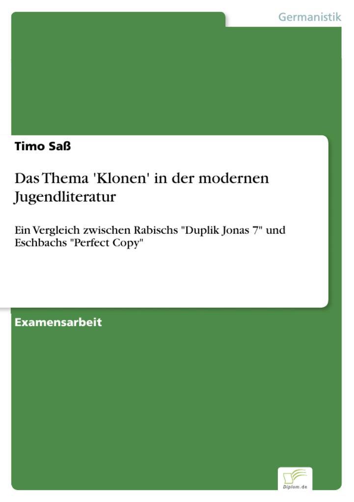 Das Thema Klonen in der modernen Jugendliteratur.pdf