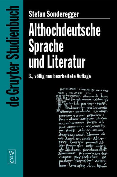 Althochdeutsche Sprache und Literatur als Taschenbuch