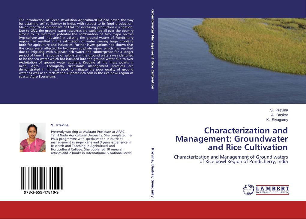 Characterization and Management: Groundwater and Rice Cultivation.pdf