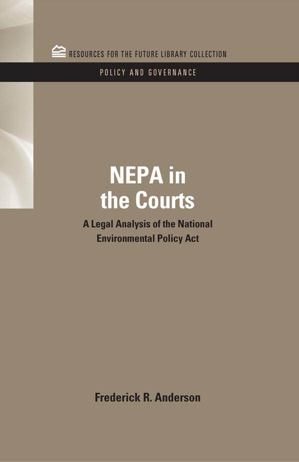 NEPA in the Courts.pdf