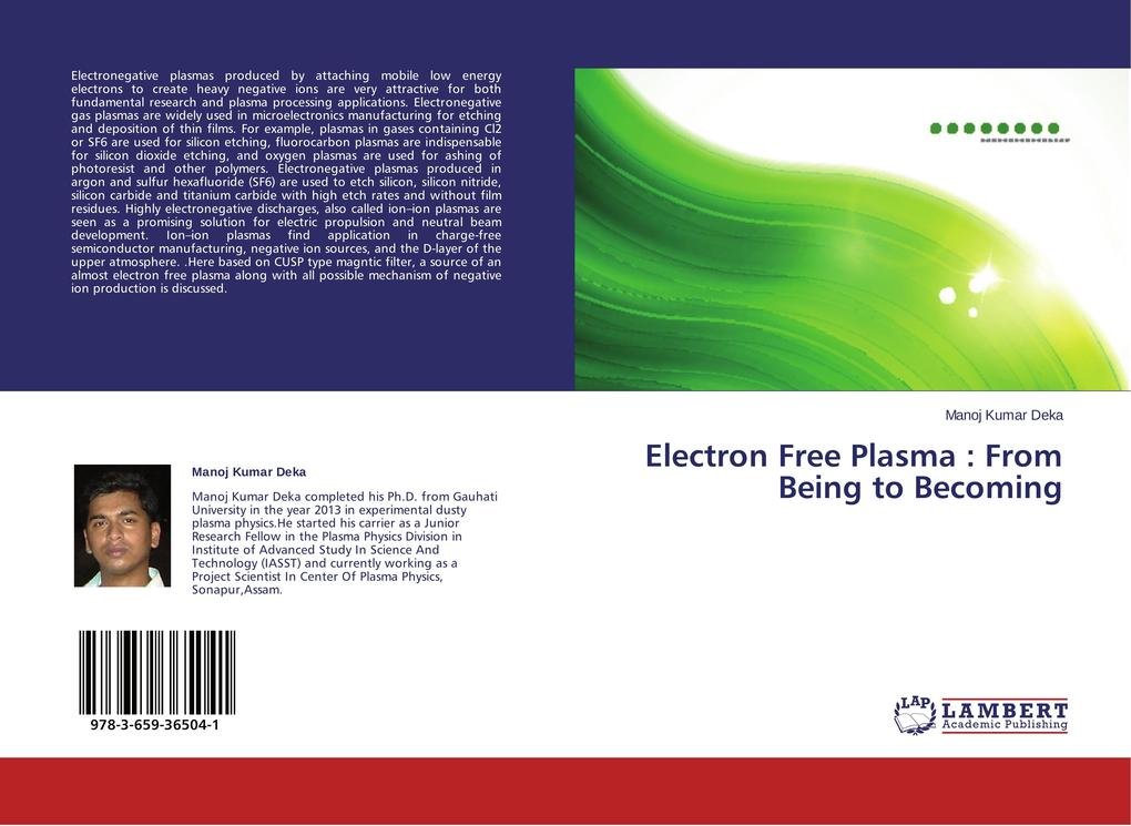 Electron Free Plasma : From Being to Becoming.pdf