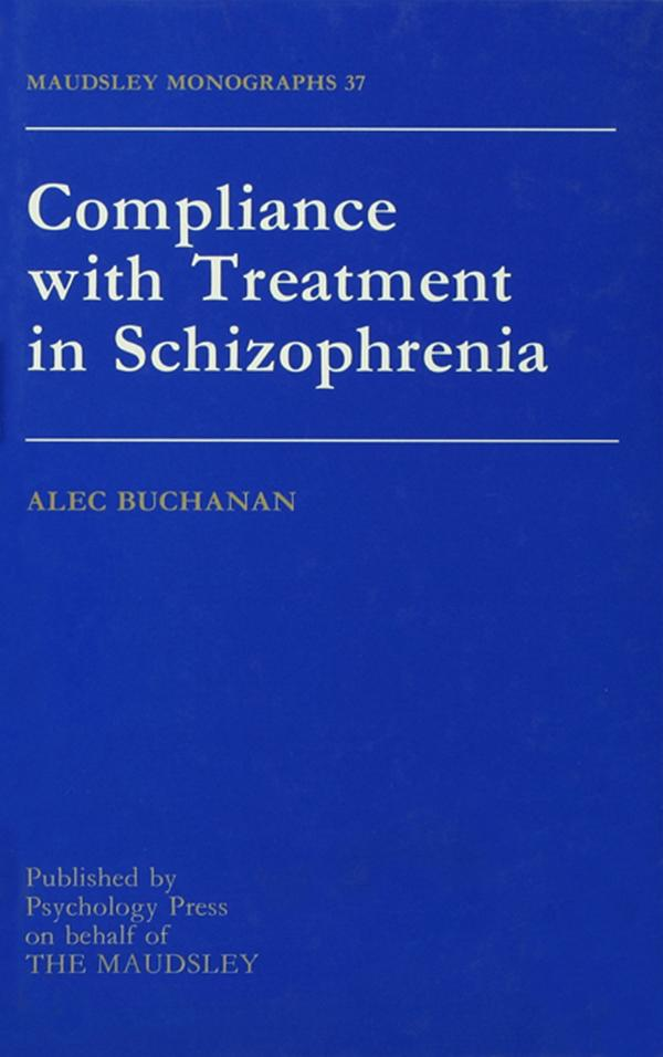 Compliance With Treatment In Schizophrenia.pdf