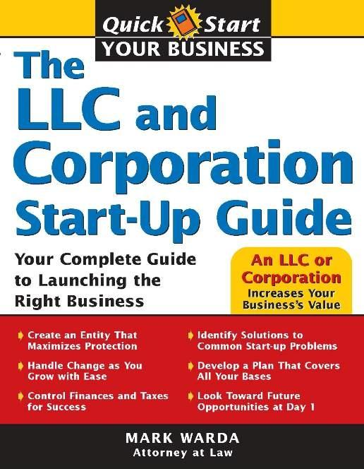 LLC and Corporation Start-Up Guide.pdf