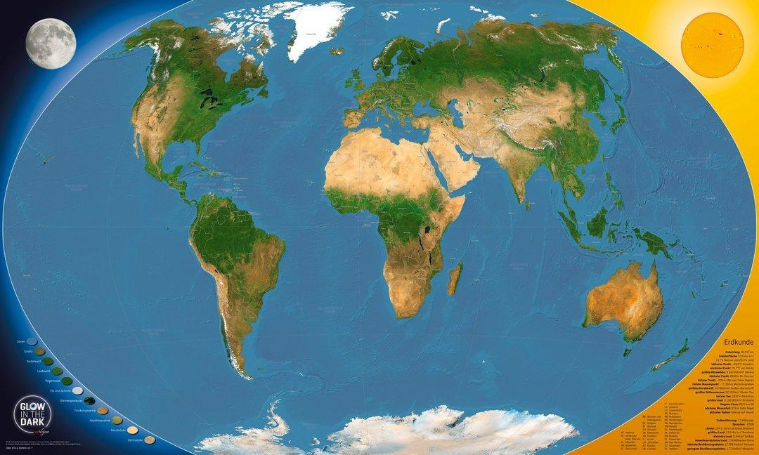 GLOW IN THE DARK Satellitenbild Weltkarte.pdf