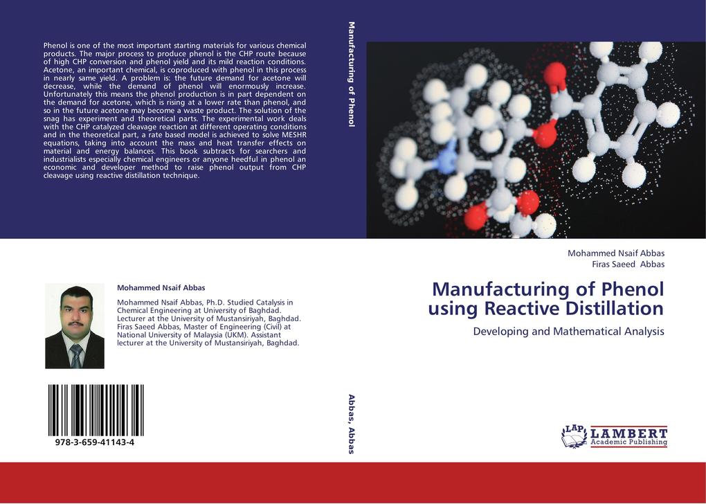 Manufacturing of Phenol using Reactive Distillation.pdf