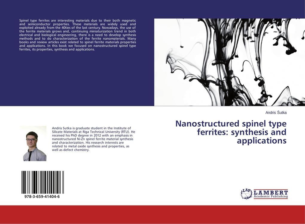 Nanostructured spinel type ferrites: synthesis and applications.pdf