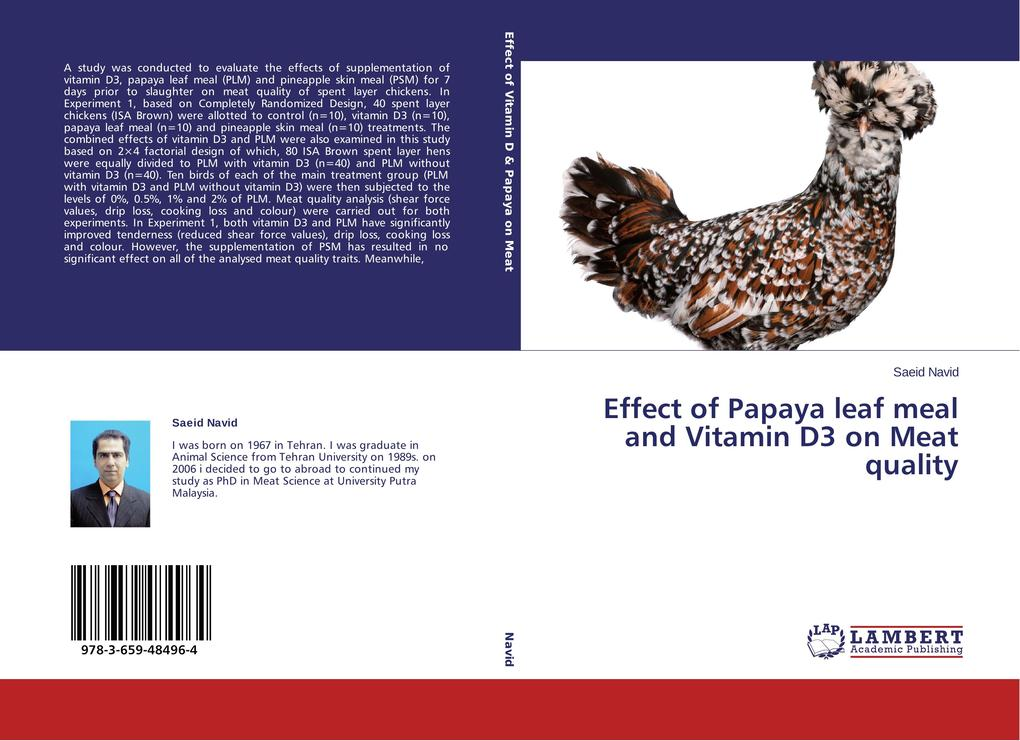 Effect of Papaya leaf meal and Vitamin D3 on Meat quality.pdf