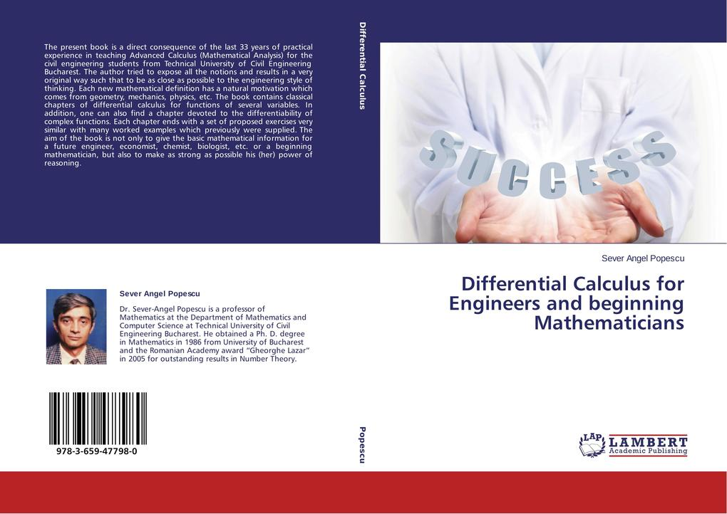 Differential Calculus for Engineers and beginning Mathematicians.pdf